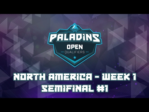 Paladins NA Open Bracket Qualifiers - Semifinal #1 (Matchpoint vs. Team AGG)