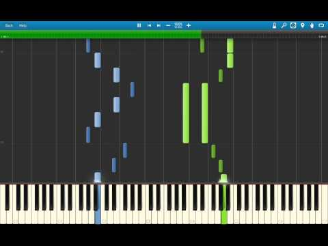 Pokemon X & Y - Ending Theme 2 (Kiseki) Piano Arrangement (Synthesia)
