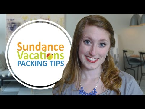 Sundance Vacations Packing Tips- How to Pack for a Beach Summer Vacation