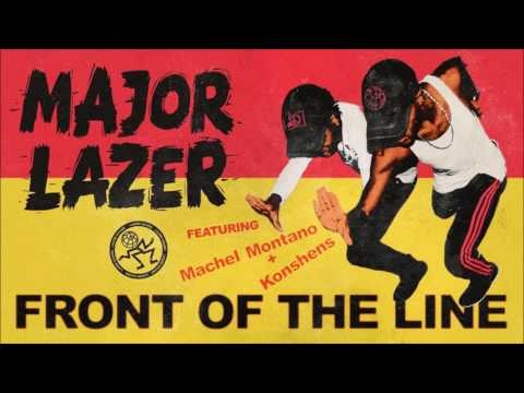 💋 Major Lazer feat. Machel Montano & Konshens - Front of the Line