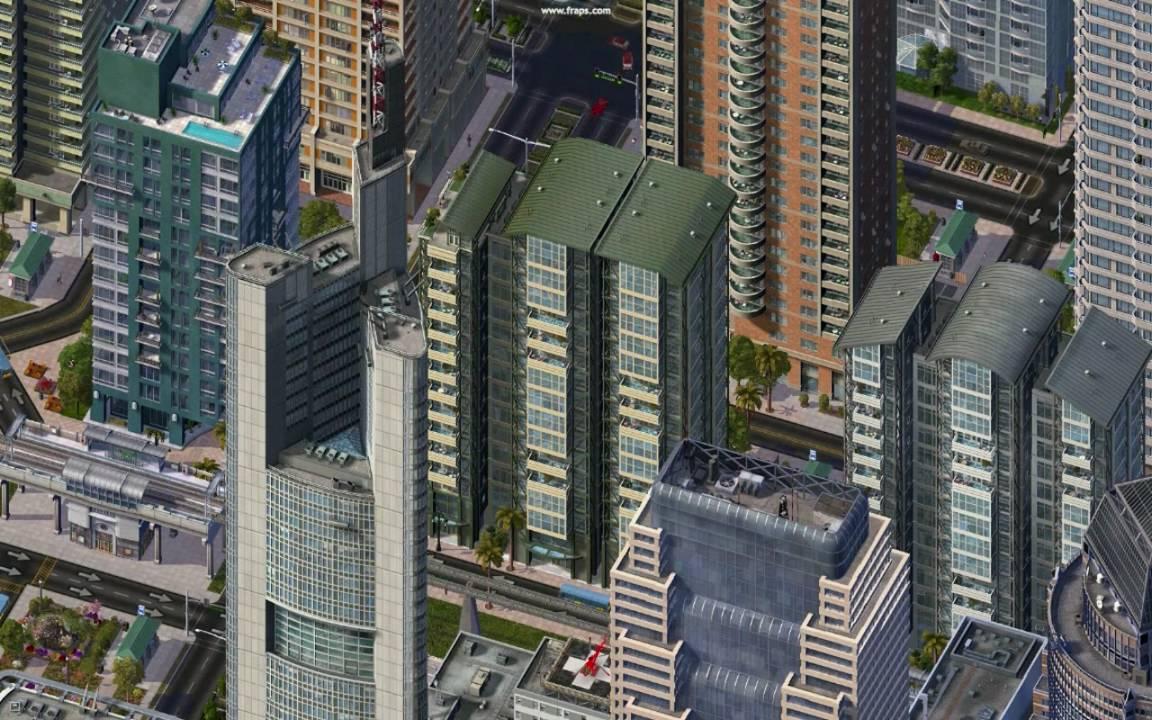 Simcity  Commercial Buildings
