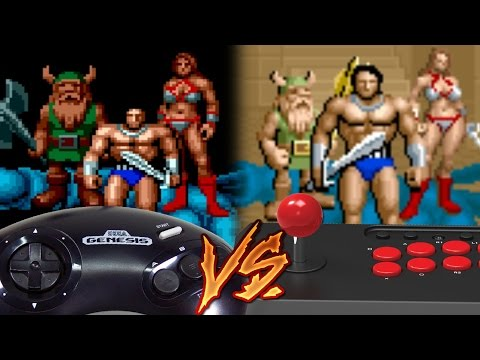 Sega Genesis Vs Arcade - Golden Axe thumbnail