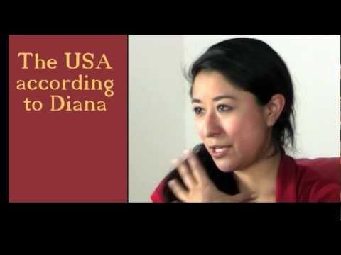 The USA according to Diana - Spanish / no subs