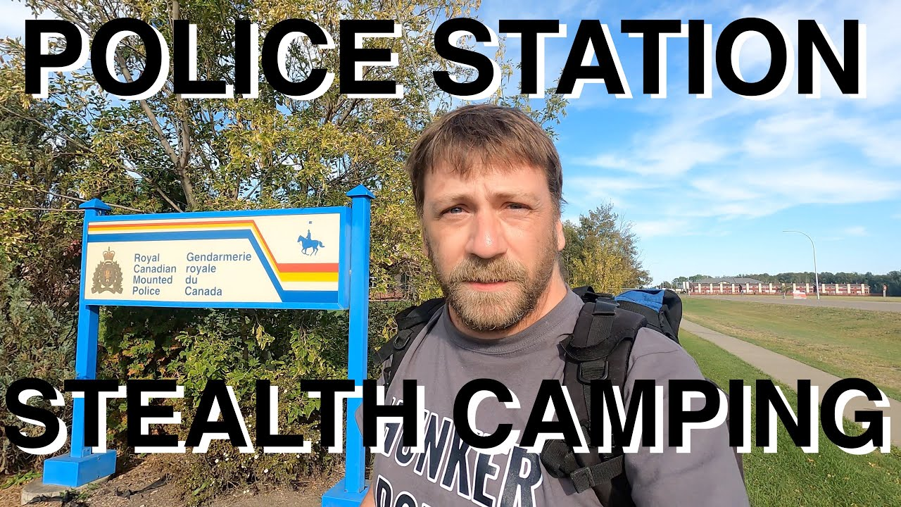 Police Station Stealth Camping In Hammock