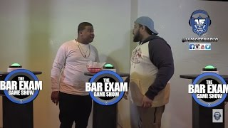 CHARLIE CLIPS & DNA ARGUE DURING THE BAR EXAM GAME SHOW SEQUEL WHILE GOODZ STEPS ASIDE