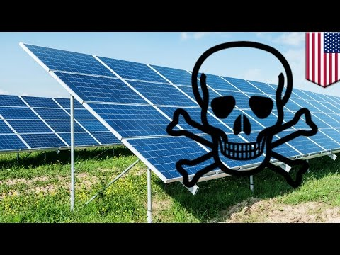 Global warming: Rise in potent new greenhouse gas NF3 linked to solar panel production - TomoNews
