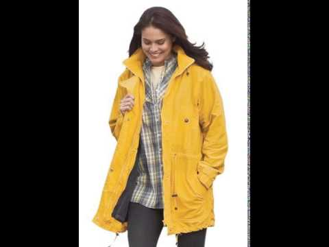 Woman Within Womens Plus Size Jacket Anorak In Weather Os28