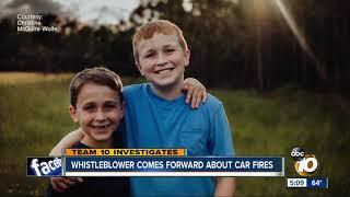 Whistleblower comes forward about Kia car fires