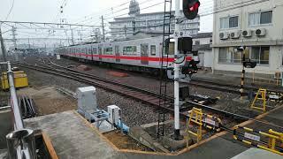 山陽電車5000系東二見駅 5番線手前で留置