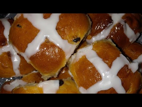 hot-cross-buns-|-easter-buns-|-simple-and-easy-recipe-|-iamsarine