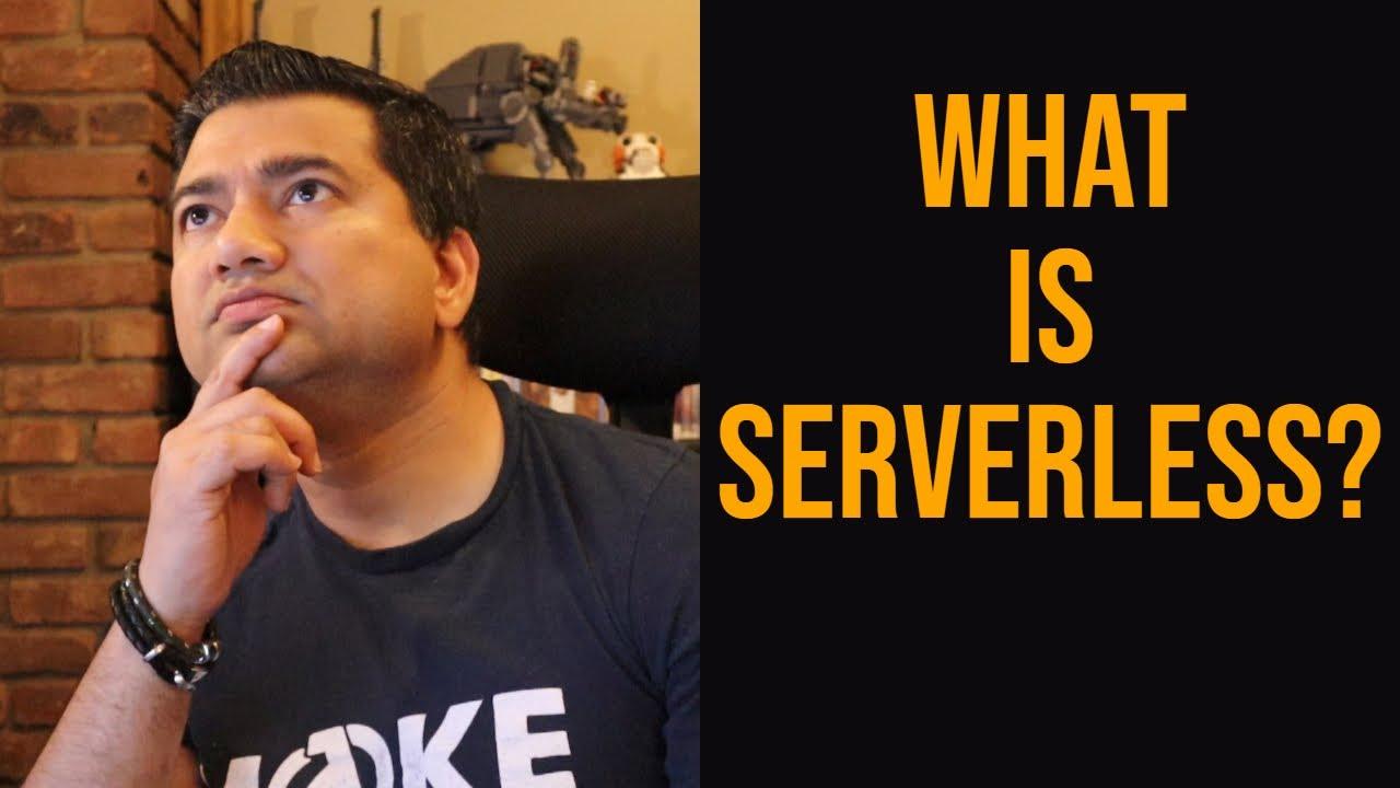 What is serverless computing in AWS? Serverless is more than AWS Lambda!
