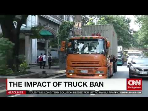 The impact of truck ban