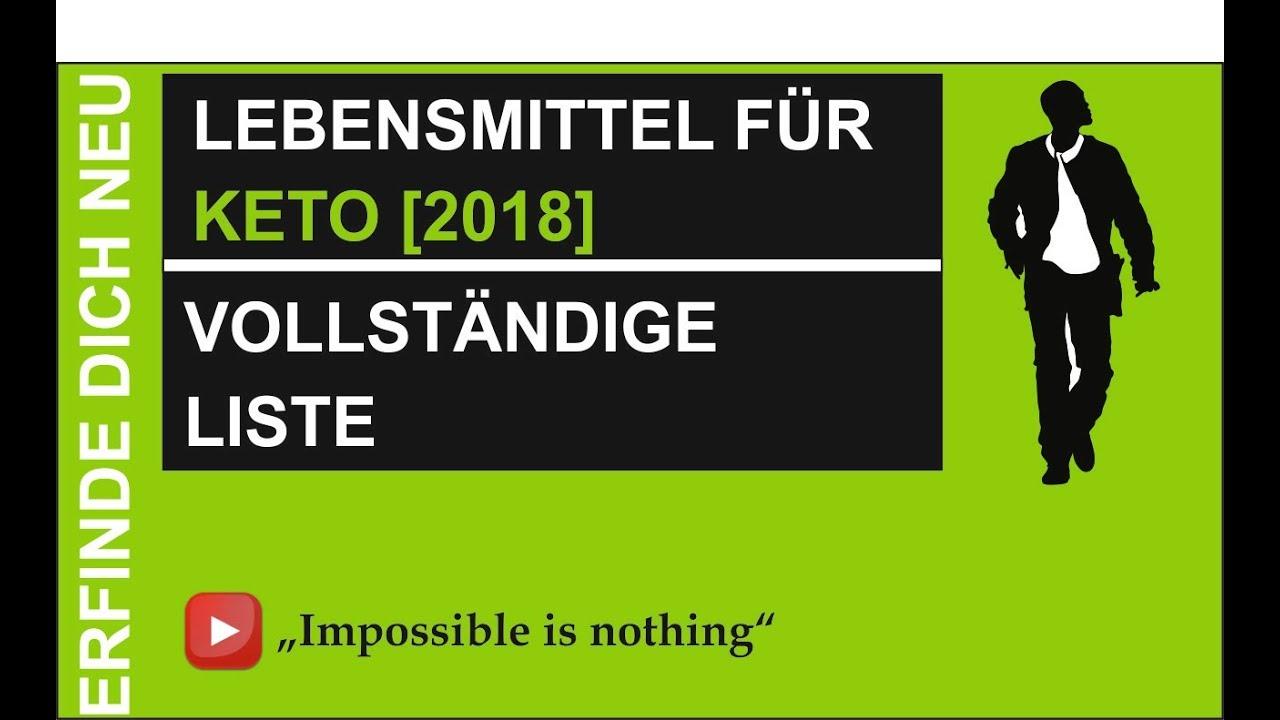 Lebensmittel Food Fur Die Ketogene Diat Keto Vollstandige Liste