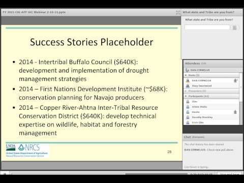 IAC Webinar Series - NRCS Conservation Innovation Grant (CIG)