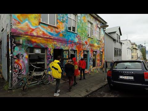 Streets of Reykjavik, Iceland GoPro 1080p
