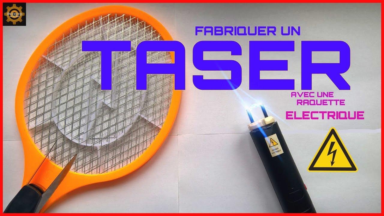 fabriquer un taser avec une raquette electrique d i y 4 plus de 4500 volts au compteur. Black Bedroom Furniture Sets. Home Design Ideas