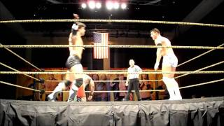 Antonio Cesaro & Big E. vs. Brad Maddox &  Briley Pierce FCW 11/11/11
