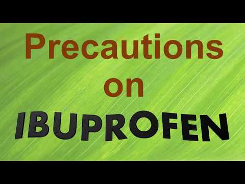 IBUPROFEN | How to avoid serious side effects | Patient safety advice on IBUPROFEN | Precaution