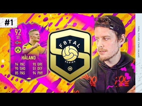 THE BEST SERIES EVER?! F8TAL FUTURE STARS HALAND #1 FIFA 20 Ultimate Team