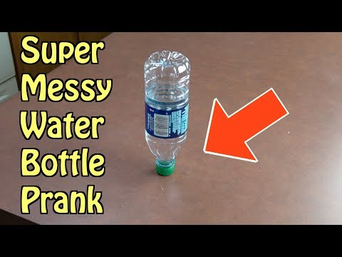 Messy Water Bottle Prank Everyone Will Fall For (Simple April Fools' Day Prank Ideas) HOW TO PRANK