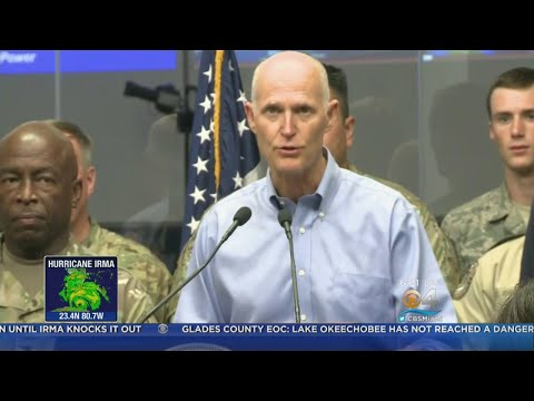 Florida Governor Rick Scott With Last Minute Advice For Residents