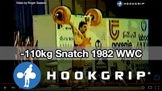 -110kg Snatch - 1982 World Weightlifting Championships