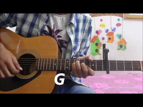 Dil Ibadat Kar Raha Hai - K.K - Guitar cover lesson chords hindi easy - Adnan Ahmad