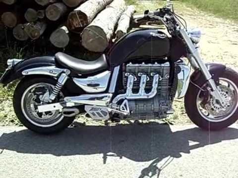 triumph rocket iii roadster & zard exhaust sound check - youtube
