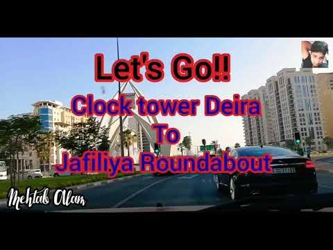 Clock Tower | Dubai Fram | Jafiliya Roundabout
