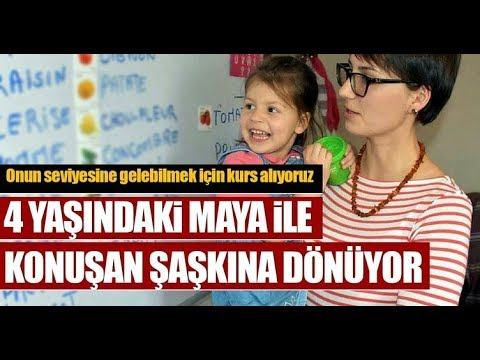 İnanılmaz! 4 Yaşında 6 Dil Konuşuyor Maya Yıldız
