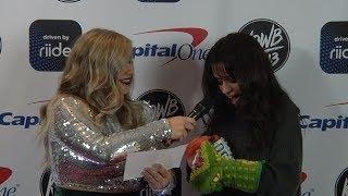 Falen interviews Camila Cabello backstage at KDWB Jingle Ball 2017