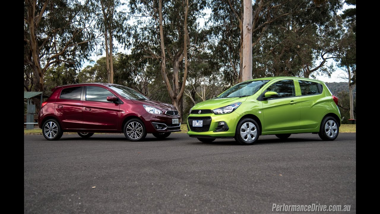 2016 Mitsubishi Mirage Vs Holden Spark: 0-100km/h & Engine