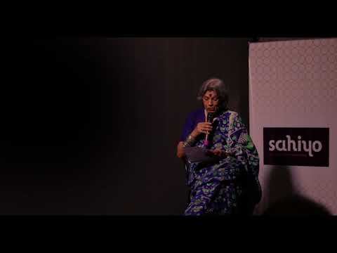 Storytelling with Sahiyo: Dolly Thakore Reads 64 year old anonymous woman's letter