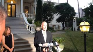 Gov. Jerry Brown discusses 2014 general election campaign