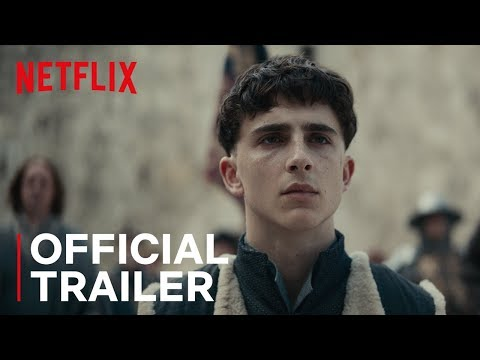 Just Some Epic Tweets Of People Thirsting For Timothée Chalamet In 'The King' Trailer