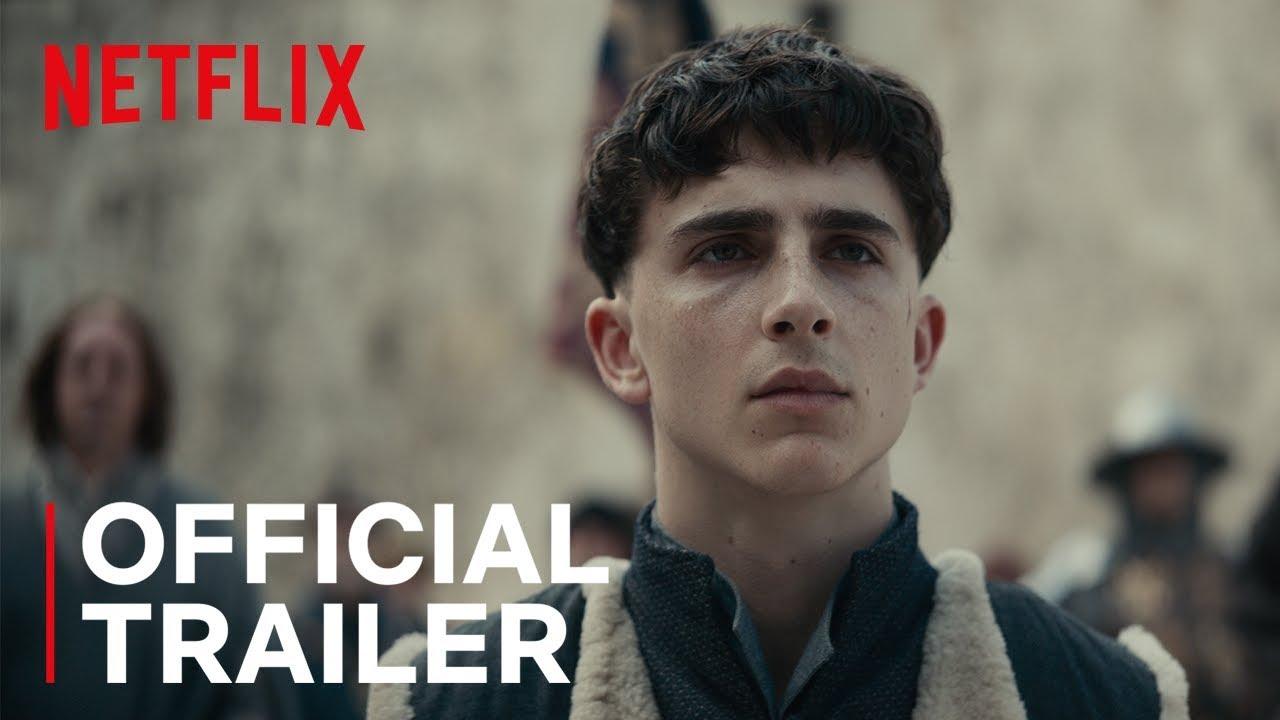 Timothee Chalamet in The King trailer op Netflix België