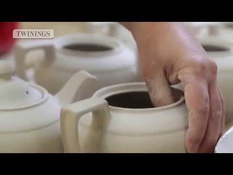Twinings Tea and Burleigh Teapot - Tea Heaven
