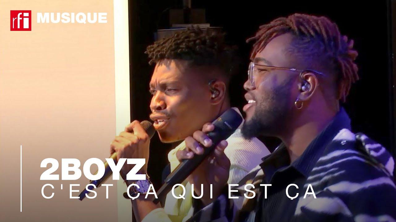 """""""C'est ça qui est ça"""" par 2Boyz, un live de Couleurs Tropicales"""