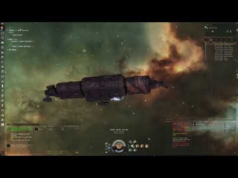 Eve Online - Slave Trading in a Blockade Runner (cloaking Crane industrial)