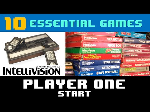 10 Essential Games For Intellivision - Player One Start