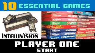 10 Essential Games f๐r Intellivision - Player One Start