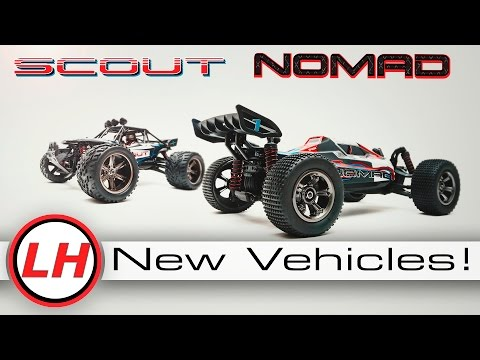 LiteHawk SCOUT and NOMAD | New Members of the CRUSHER Family!