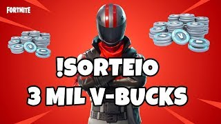 DRAW 3000 V-BUCKS FORTNITE BATTLE ROYALE!