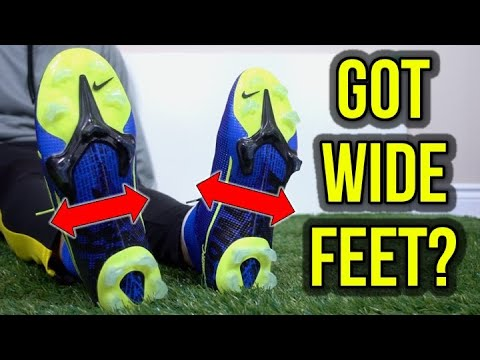 TOP 5 WIDE FOOTBALL BOOTS 2019 - YouTube