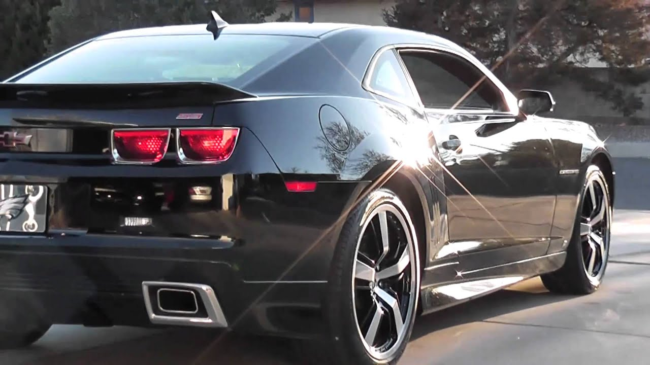 Andre's 2010 Camaro 2SS/RS LS3 429ci Stroker at Idle - YouTube