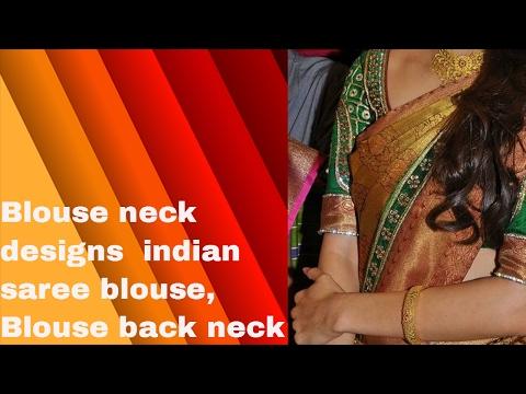 Blouse neck designs, indian saree blouse, Blouse back neck cutting images clip11