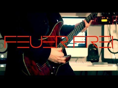 Rammstein - Feuer Frei (Live) Guitar cover by Robert Uludag/Commander Fordo
