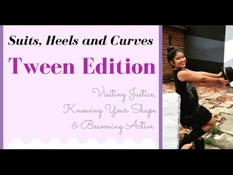 Suits Heels And Curves Teen Fashion Fashion Haul Justice Dressing Your Curves Becoming Active Youtube