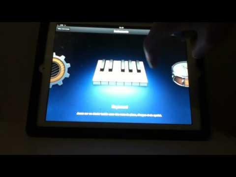 Application iPhone pour jouer des instruments de musique sur son Smartphone