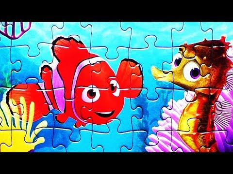 FINDING NEMO Dory Puzzle Game Disney Pixar Playset Rompecabezas Puzzles Puzzel Kids Toys  